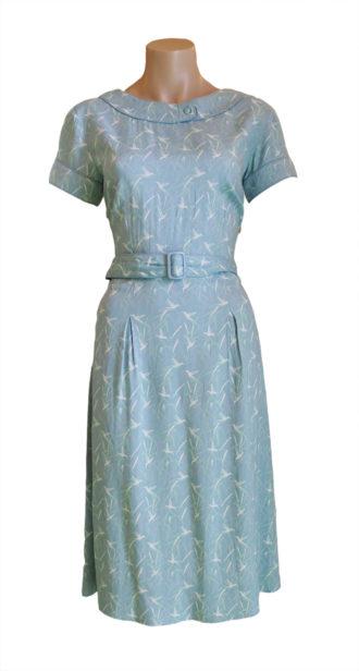 Pretty Vacant-Kleid-Molly Dress Blue