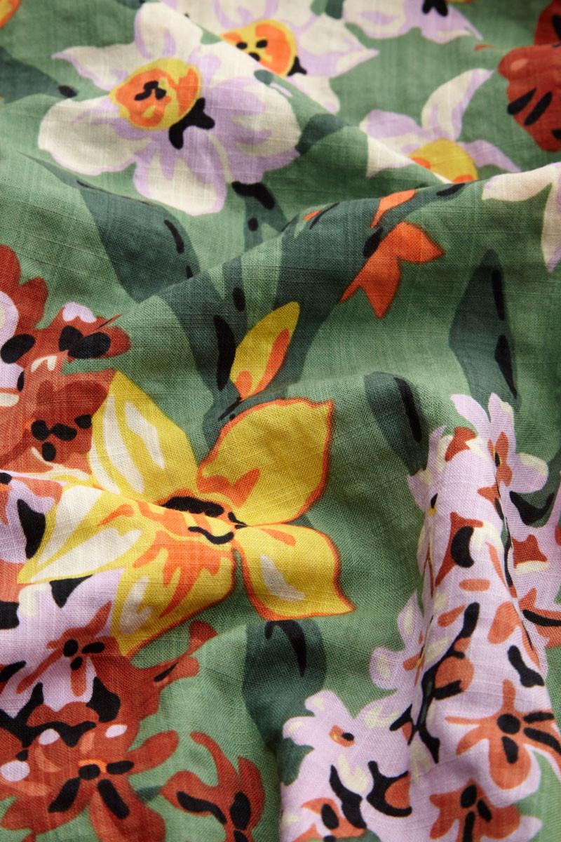 Kleid retro floral Blumen Muster Sommerkleid King Louie pussy GALORE Leipzig Südplatz