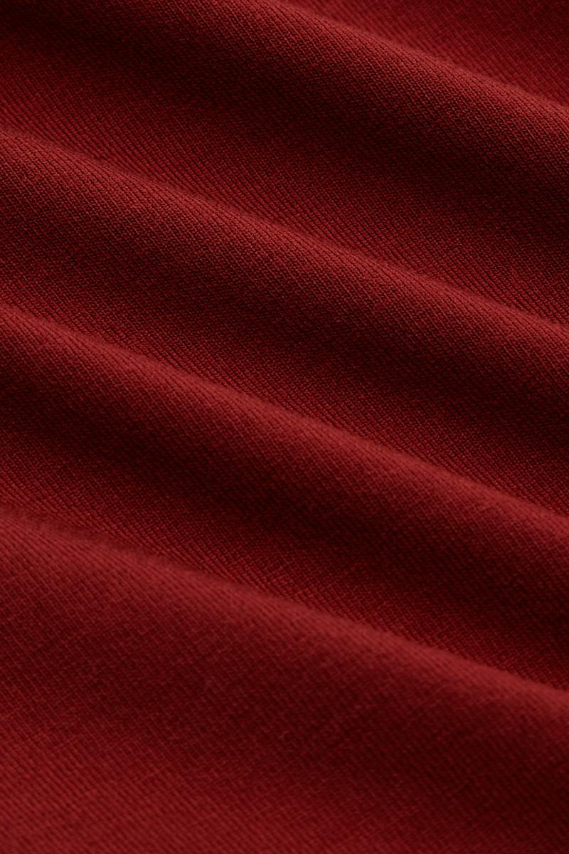 KING LOUIE WATERFALL Longsleeve mit Wasserfall-Ausschnitt aus LENZING™ ECOVERO™ Taillierte Passform